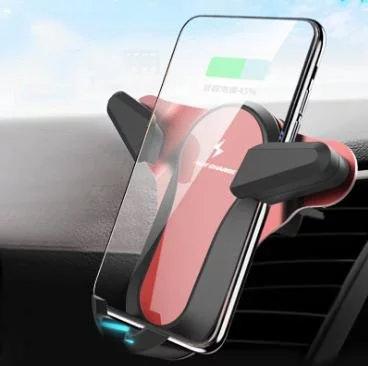 自動感應無限車充 紅色